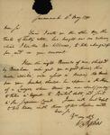 William Stephens to John Kean, May 11, 1790