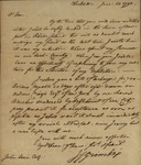 John Faucherand Grimke to John Kean, June 13, 1790