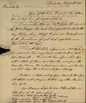 William Wilkie to John Kean, July 24, 1790