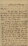 William Stephens to John Kean, October 13, 1790