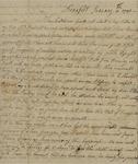 Eliza Gough to Susan Kean, January 11, 1791