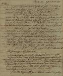 John Faucherand Grimke to John Kean, April 15, 1790