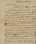 Henry Beekman Livingston to Susan Livingston Kean, May 24, 1791 by Henry Beekman Livingston