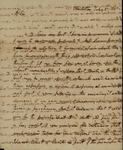 Robert Barnwell to John Kean, July 21, 1791