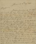 William Stephens to John Kean, August 11, 1791