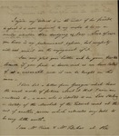 John Kean to Susan Kean, August 27, 1791