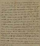 John Kean to Susan Kean, August 31, 1791