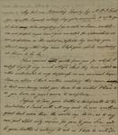 John Kean to Susan Kean, Morning, September 2, 1791 by John Kean