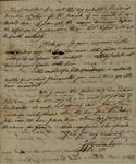 Joseph Abendanone to John Kean, October 11, 1791
