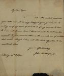 John Rutherfurd to Susan Kean, October 29, 1791