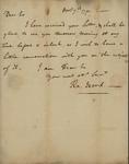 Ralph Izard to John Kean, November 11, 1791