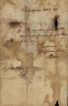 Henry Knox to John Kean, November 7, 1791 by Henry Knox