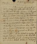 Philip Livingston to John Kean, November 11, 1791 by Philip Peter Livingston