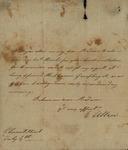 E. Allen to Susan Kean, July 4, 179?