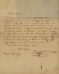 M. Cassinove to Susan Kean, July 6, 179?