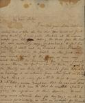Sarah Ricketts to Susan Kean, October 7, 1793