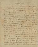 George Van Brugh Brown to Susan Kean, July 22, 1796