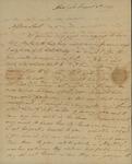 George Van Brugh Brown to Susan Kean, August 8, 1796
