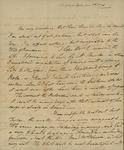 George Van Brugh Brown to Susan Kean, September 7, 1796
