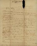 M. Cassinove to Susan Kean, January 29, 1799