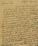 Philip Livingston to Susan Kean, August, 1799