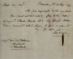 Jonathan Coit to William S. Robinson, February 21, 1799 by Jonathan Coit