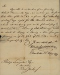 Vanderhorst & Miller to Philip Livingston, February 22, 1799