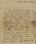 George Van Brugh Brown to Susan Kean, February 28, 1797 by George Van Brugh Brown