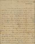 George Van Brugh Brown to Susan Kean, December 2, 1797 by George Van Brugh Brown