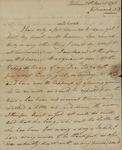 George Van Brugh Brown to Susan Kean, March 26, 1798