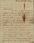 George Van Brugh Brown to Susan Kean, May 30, 1798