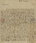 Julian Ursin Niemcewicz to Susan Ursin Niemcewicz, November 15, 1801