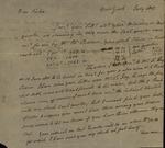 Philip Livingston to Susan Ursin Niemcewicz, July, 1803