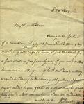 William Armstrong to Susan Ursin Niemcewicz, October 3, 1804