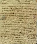 J.C. Barnet to Julian Ursin Niemcewicz, May 13, 1805