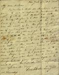 Brockholst Livingston to Susan Ursin Niemcewicz, October 27, 1806
