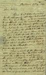 Mrs. Barnet to Susan Ursin Niemcewicz, October 14, 1807 by Barnet