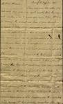 Robert Barnwell to Susan Ursin Niemcewicz, August 5, 1808 by Robert Barnwell