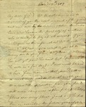 Christine Biddle to Susan Ursin Niemcewicz, January 19, 1809