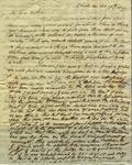 Peter Kean to Susan Ursin Niemcewicz, February 19, 1809 by Peter Philip James Kean