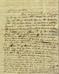 Peter Kean to Susan Ursin Niemcewicz, March 19, 1809 by Peter Philip James Kean