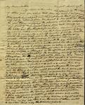 Peter Kean to Susan Ursin Niemcewicz, March 27, 1809 by Peter Philip James Kean