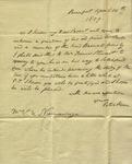 Peter Kean to Susan Ursin Niemcewicz, April 14, 1809 by Peter Philip James Kean