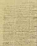 Peter Kean to Susan Ursin Niemcewicz, April 17, 1809 by Peter Philip James Kean