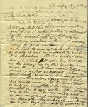 Peter Kean to Susan Ursin Niemcewicz, May 31, 1809 by Peter Philip James Kean