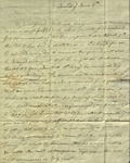 Chrstine Biddle to Susan Ursin Niemcewicz, June 5, 1809