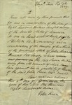 Legal Indenture of Peter Kean to Susan Ursin Niemcewicz