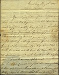 A. Morris to Sarah Sabina Morris, May 22, 1805