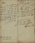 Brockholst Livingston to William Jones, January 27, 1817 by Henry Brockholst Livingston
