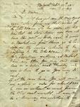 Henry Gahn to Susan Ursin Niemcewicz, February 25, 1811 by Henry Gahn